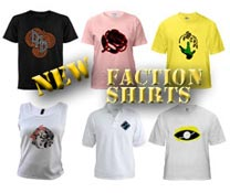 Sleuth Faction Shirts